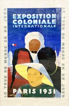 JEAN VICTOR DESMEURES - Paris International Colonial Exhibition - 1931