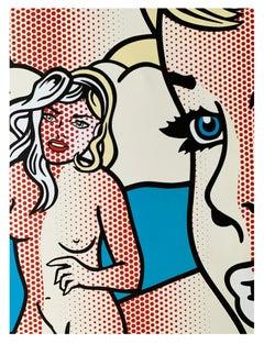 Roy Lichtenstein Exhibition Poster - Nudes with Beach Ball