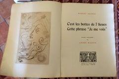 """C'est les bottes de 7 lieues cette phrase """"je me vois"""" - 1920s - André Masson"""