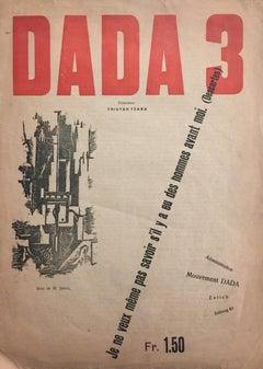 Dada 3 - 1910s - Tristan Tzara - Magazine - Surrealism
