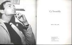 Cy Twombly - Catalog - 1986 - Contemporary