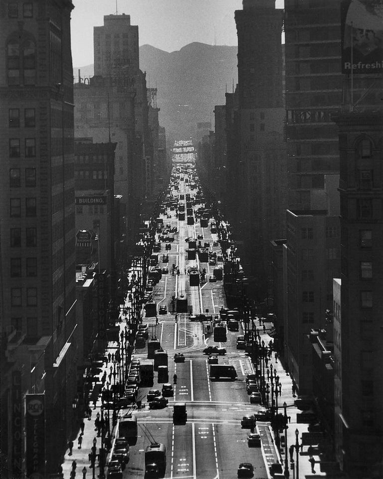 San Francisco - 1950s - Phil Palmer - Photo - Contemporary - Photograph by Phil Palmer
