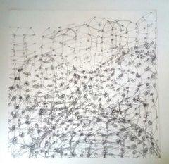 Abstrakte Zeichnungen und Aquarelle