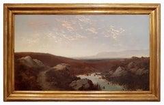 Landscape - 1890s - Giulio Aristide Sartorio - Painting - Modern