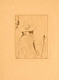 Model - Original Lithograph
