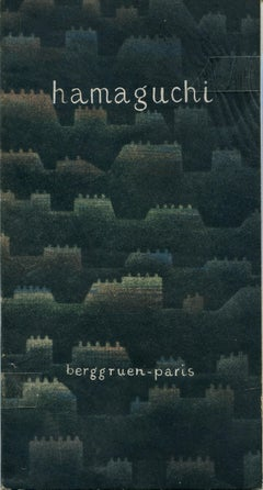 Hamaguchi - Rare Catalogue of Exhibition at Galerie Berggruen - 1958