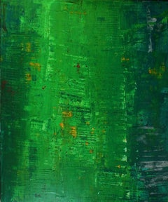 Abstract Composition - 2000s - Li Lei - Oil on canvas - Contemporary
