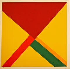 Composition - Original Silkscreen by Mauro Reggiani - 1972