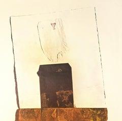 Rauschenberg's Poster - Vintage Poster 1974