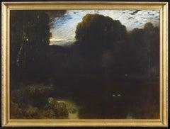 Arcadia - Oil Painting by Ferdinand Keller - 1899