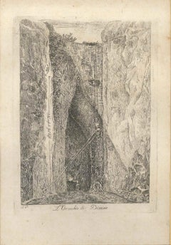 The Ear of Dionysus - Original Etching end of 18th Century
