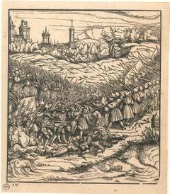 Battle Scene - 1790s - Hans Burgkmair - Lithograph - Modern