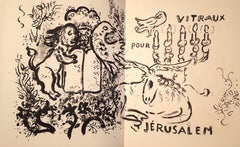 Vitraux pour Jérusalem - original illustrated book, deluxe edition, signed