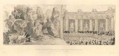 Madame de Pompadour - Original Etching by A. Lalauze - 1883