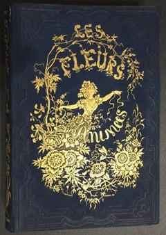 Les Fleurs Animées - Original Edition Illustrated by J.J. Grandville - 1847
