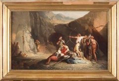 Archery - Oil on Canvas by an Anonymous French Master end of 18th/Early 19th