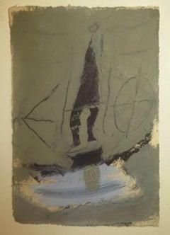 Untitled - Original Mixed Media by Gianni Dessì - 1982