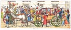 I Moccoletti - Original Etching by C. G. Hyalmar Morner - 1820