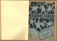 Caffè Concerto...Alfabeto a sorpresa - Rare Original Edition - 1918