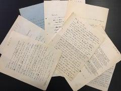 Correspondence of Zao Wou-ki - 1951/1955