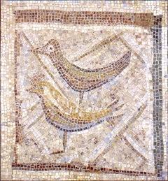Bird Cage - Original Mosaic by Massimo Campigli - 1947