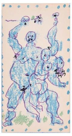 Picasso. Dessins d'un demi-siècle - Exhibition Catalogue with Original Litho