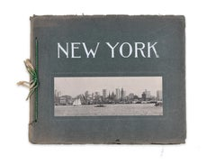 New York Photo Album - Original Vintage Souvenir Book - 1905