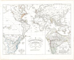 Old British Empire Map - Ancient Map by Karl Spruner - 1760 ca.