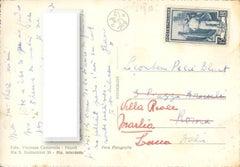 Cocteau's Authgraphed Postcard - 1953 ca.