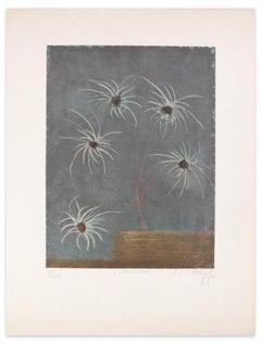 Spiroflora - Original Etching and Aquatint by J.J.J. Rigal - 1971