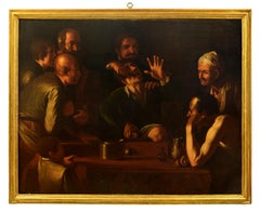 The Tooth-Puller (Il Cavadenti) - Oil on Canvas by Follower of Caravaggio