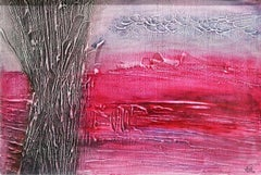 Barren - Mixed Media on Cardboard by A.M. Caboni - 2014