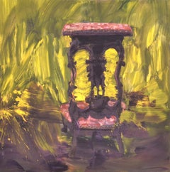 The Chair - Original Lithograph by Yan Pei-Ming - 2014