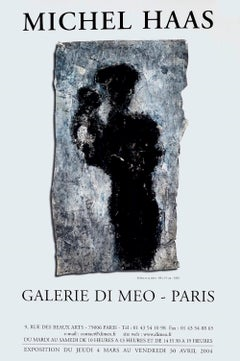Michel Haas - Vintage Exhibition Poster Galerie Di Meo - 2004