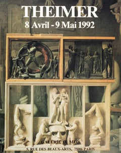 Theimer - Galerie Di Meo - Vintage Poster 1992