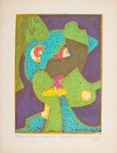 Sous le Signe de Septembre - Original Screen Print by C. Hirtz - 1980