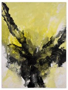 Birth Of Flight - Acrylic on Canvas by Elena Ksanti - 2019