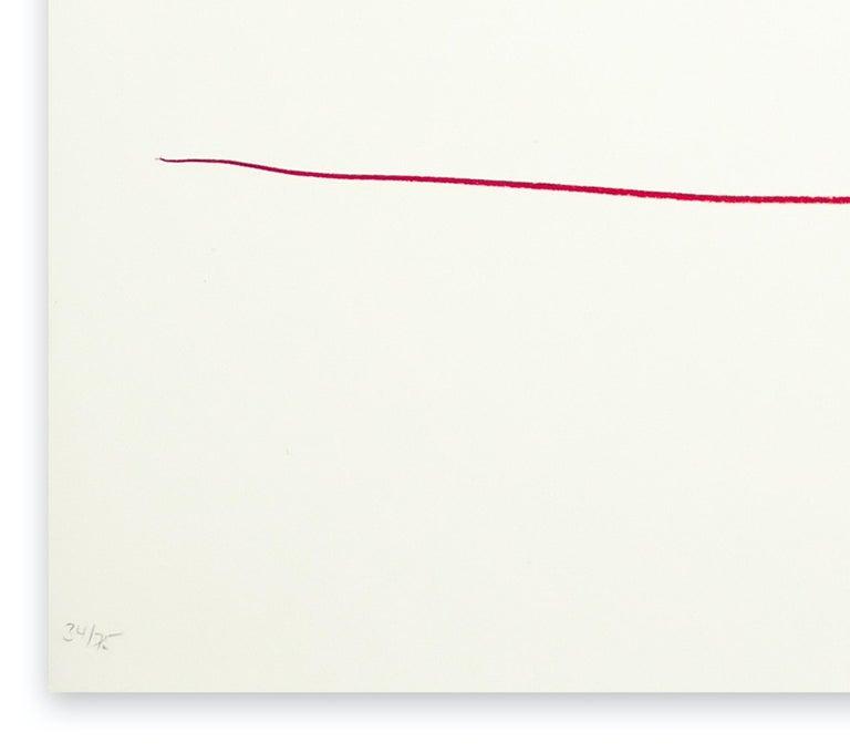 Untitled - Original Lithograph by Aki Kuroda - 1980s For Sale 1