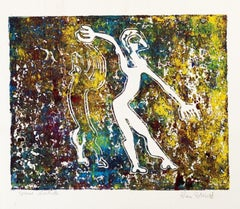 Shape of Man - Original Lithograph by Alain Ducros - 1970s