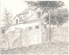 1980s Landscape Drawings and Watercolours
