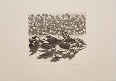 In the Nature - Original Etching by R. Piraino - 1970s