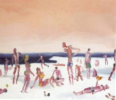 Snow Beach - Oil on Canvas by Alessandro Bazan - 2008