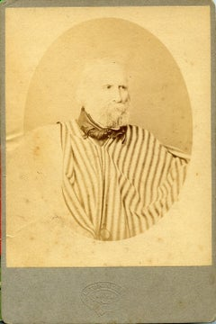 Portrait of Garibaldi - Original Albumen Print - 1874