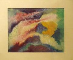 Cosmic Fantasy - Original Tempera and Pastel by Leandra Angelucci - 1936