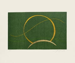 Composition - Original Screen Print by A. Fanfani - 1972