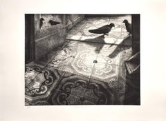 The Appointment - Original Etching by P. Cesaroni - 1994
