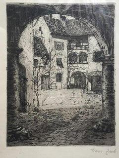 Country House - Original Etching