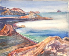Landscape - Original Drawing - 1960s