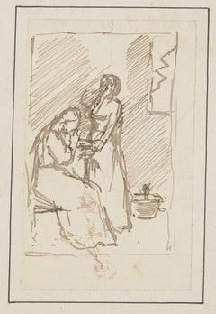 Figures - Original Drawing - 20th Century