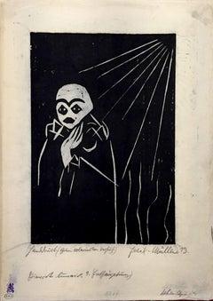 Lieder des Pierrot Lunaire - 1910s - Conrad Felixmüller - Modern